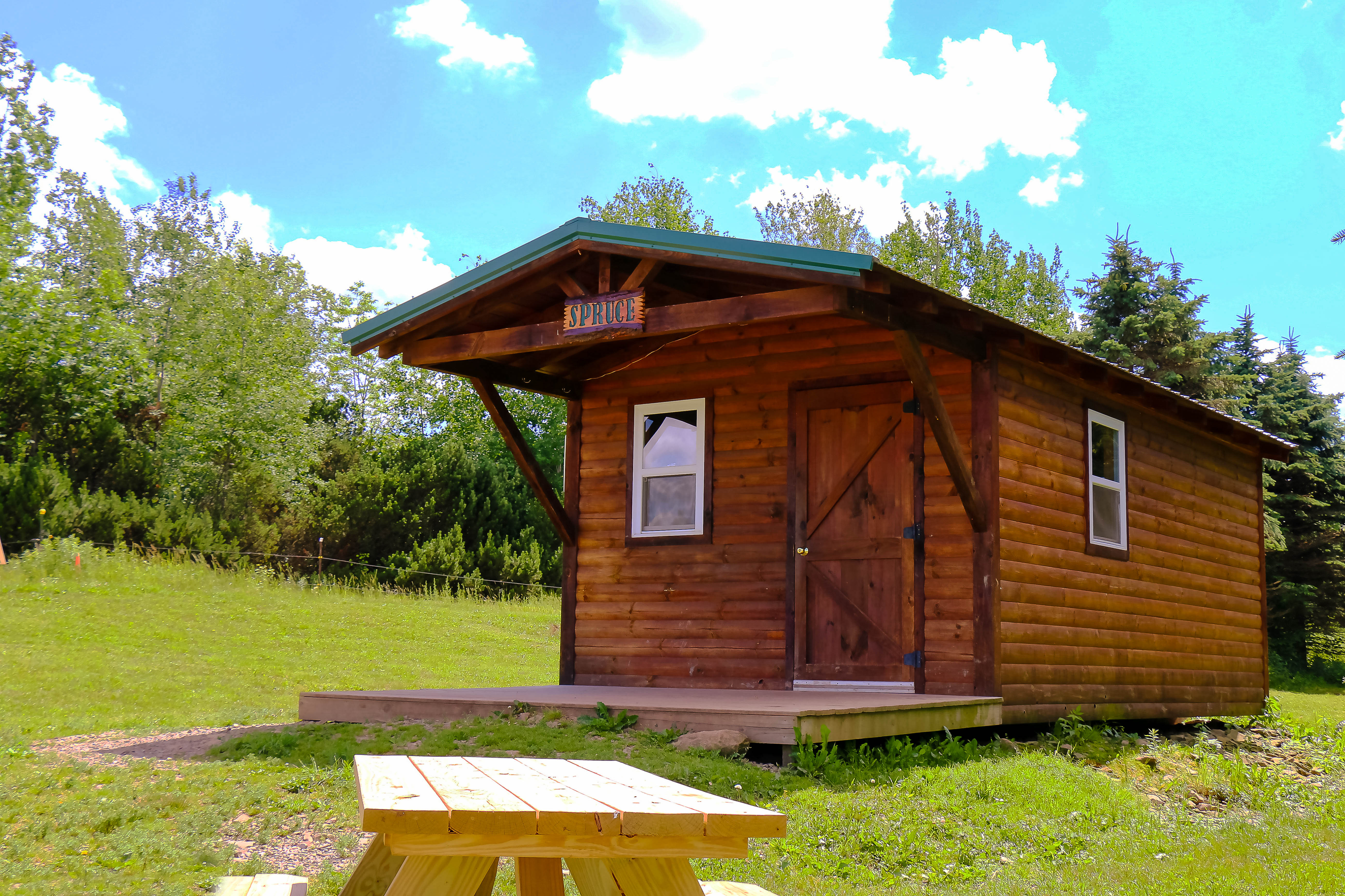 Spruce Cabin Tall Pines Atv Park